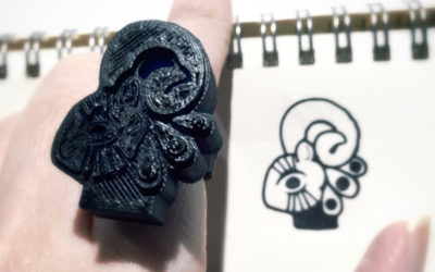 Ring from doodle